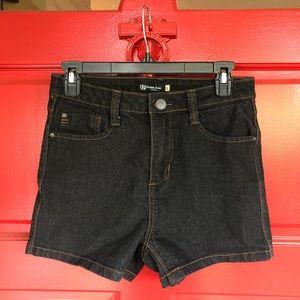 Forever 21 High Waisted Flattering Denim Shorts